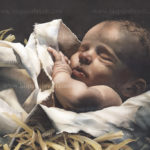 """Immanuel...God With Us"" - Watercolor by Michele E. Struss. Prints & notecards available at www.hispaintbrush.com"