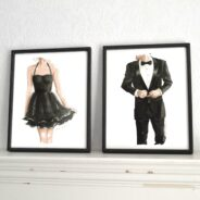 "Release #2 and #3:  ""Little Black Dress"" & ""Black Tie"""